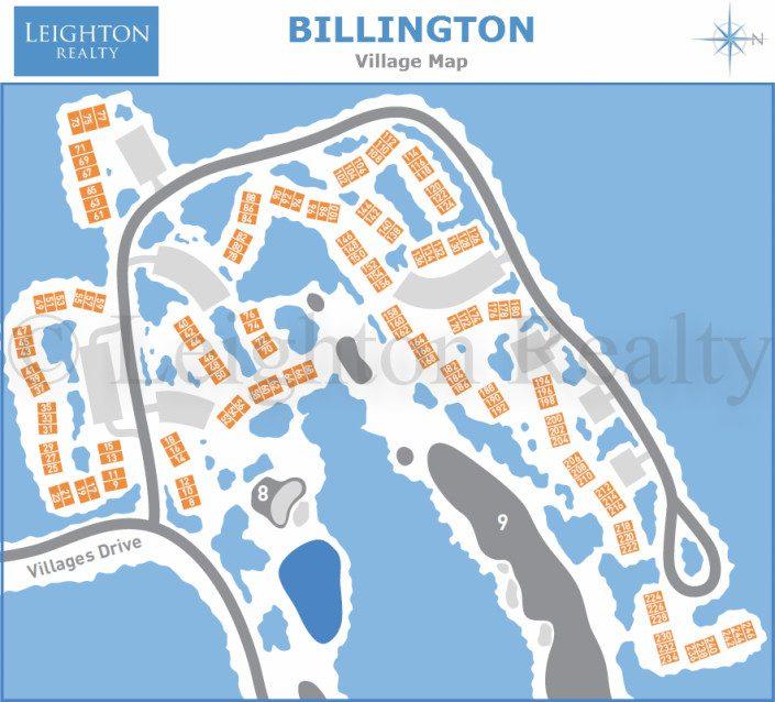 Billington Village Map - Ocean Edge