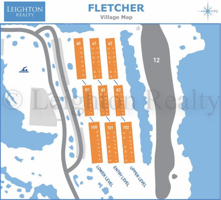 Fletcher Village Map - Ocean Edge