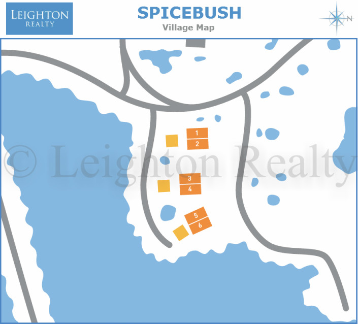 Spicebush Map - Ocean Edge