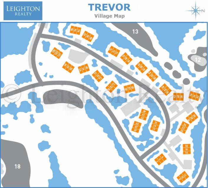 Trevor Village Map - Ocean Edge