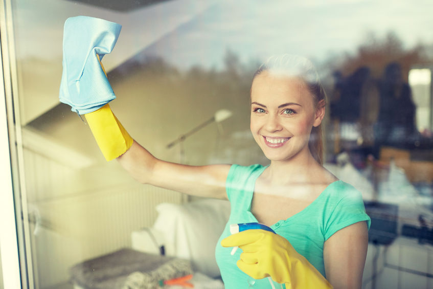 Cleaning Windows in Your Ocean Edge Condo