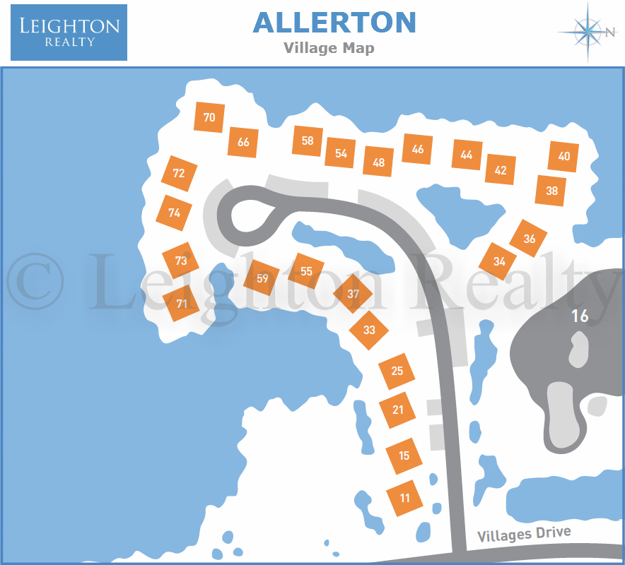Allergen Village Map - Ocean Edge