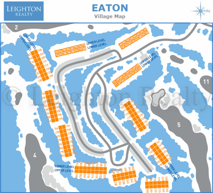 Eaton Village Map - Ocean Edge
