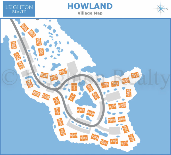 Howland Village Map - Ocean Edge