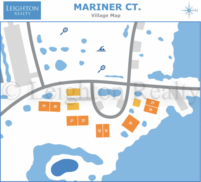 Mariner Ct Map - Ocean Edge
