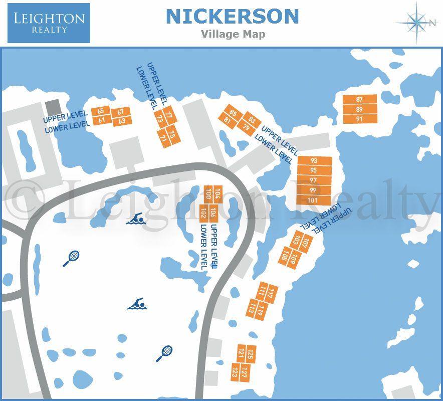 Nickerson Map - Ocean Edge