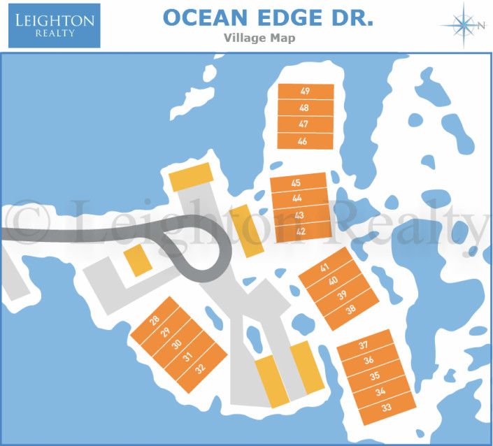 Ocean Edge Dr Map