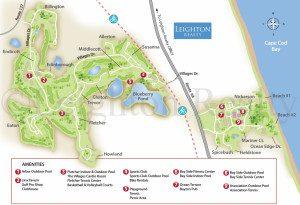 Resort Map - Ocean Edge Brewster Cape Cod