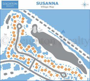 Susanna Village Map - Ocean Edge