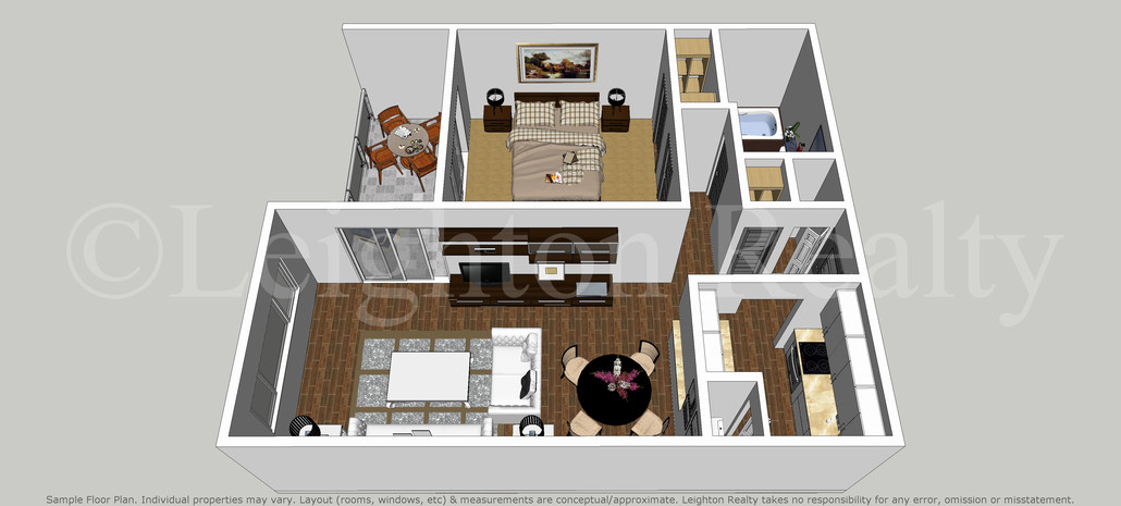 Ocean Edge One Bed Apartments - Brewster Cape Cod | Leighton ... on one bedroom home, bath townhouse floor plan, luxury townhouse floor plan, six bedroom townhouse floor plan, one kitchen floor plan,