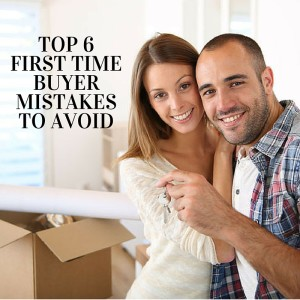 Top 4 Mistakes First Time Buyers
