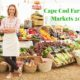 Cape Cod Farmers Markets 2016